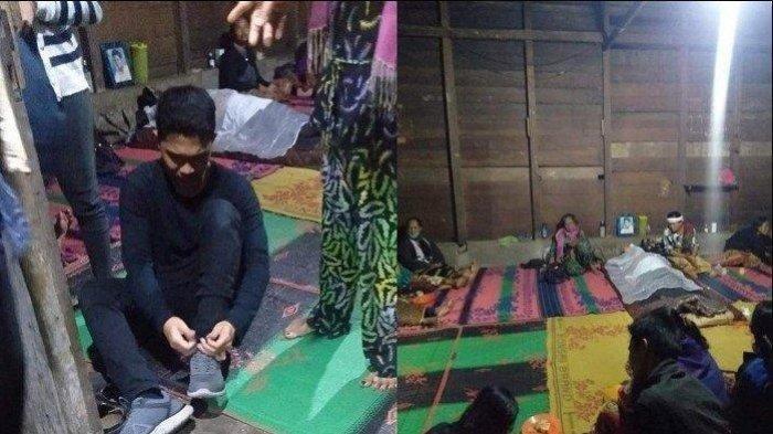 Todu Silaban, pria asal Humbahas yang viral karena berusaha tegar meninggalkan jasad ayahnya untuk mendaftar sebagai anggota Polri.