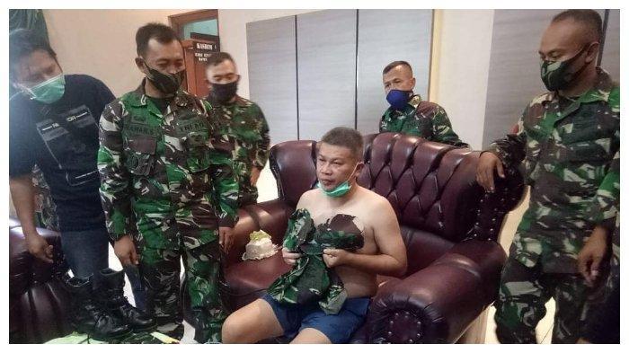 Seorang Perwira TNI Gadungan Ditangkap Anggota Kodim 0822 Bondowoso, Bingung saat Ditanya Satuan
