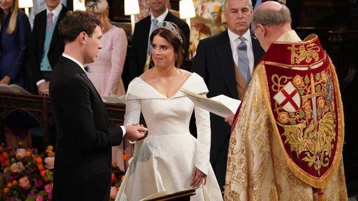 Alasan Menyentuh Princess Eugenie Tak Kenakan Veil saat Menikah