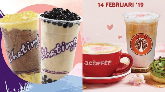 Daftar Promo Makanan dan Minuman Spesial Hari Valentine, dari Chatime, J.CO, hingga Burger King