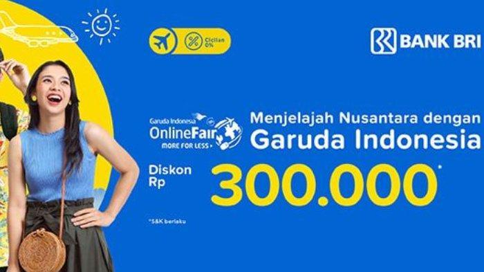 Maskapai penerbangan Garuda Indonesia memberikan promo spesial dalam rangka Garuda Indonesai Online Travel Fair 2018.