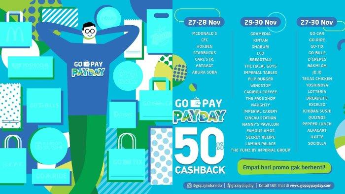 Promo Cashback 50% Go-Pay Berlanjut, Berikut Merchant yang Besok Giliran Beri Diskon