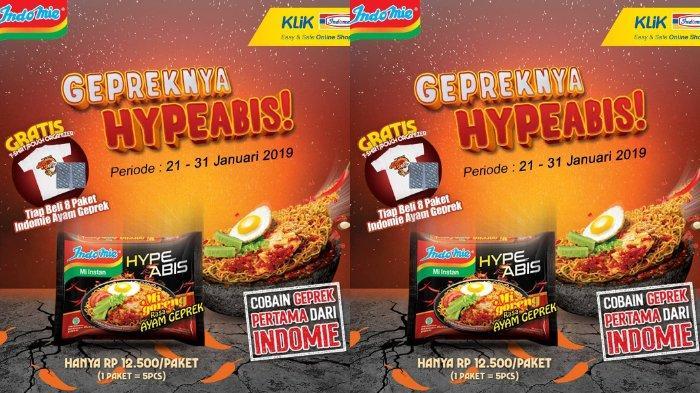 Indomie Rilis Promo Pre Launching Varian Rasa Ayam Geprek! Berikut Cara Memesannya di Klikindomaret