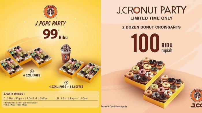 Jelang Akhir Tahun Jco Tawarkan Promo Jcronuts Rp100 Ribu Dapat