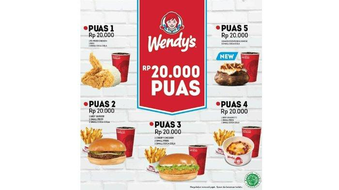 Promo Puas Wendy's