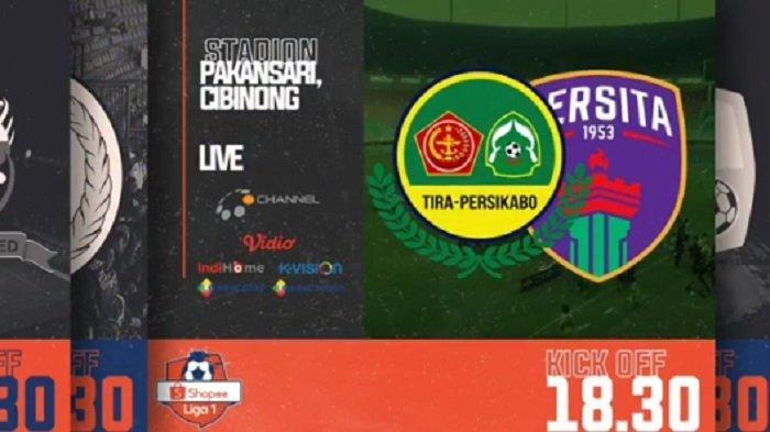 Hasil Babak Pertama PS Tira Persikabo Vs Persita Tangerang, Tim Tuan Rumah Unggul 1-0