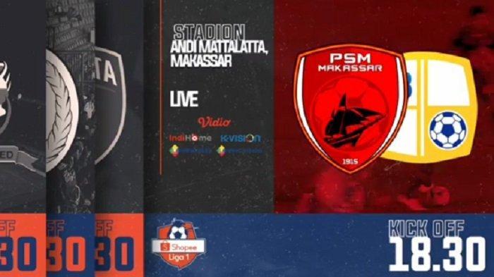 Hasil Babak Pertama PSM Makassar Vs Barito Putera, Skor 1-1, Ini Live Streaming Babak Kedua