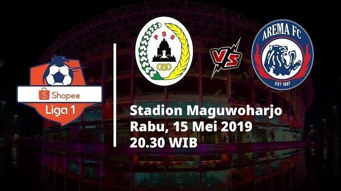 Susunan Pemain PSS Sleman Vs Arema FC di Liga 1 2019, Tonton Live Streamingnya di Sini