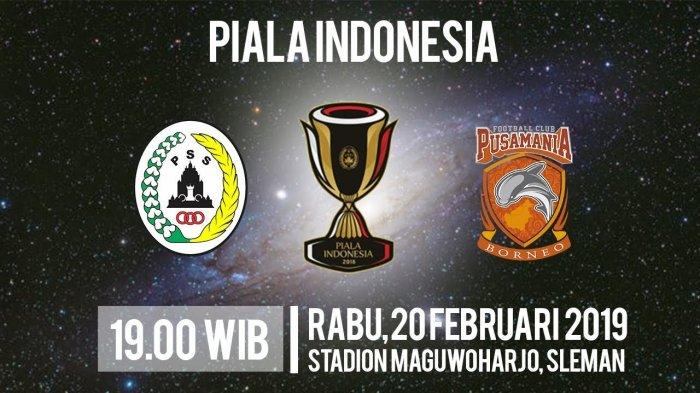 Link Live Streaming PSS Sleman Vs Borneo FC di PSSI TV Rabu Pukul 19.00 WIB
