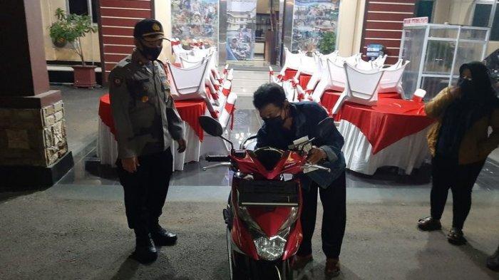 Kisah Puji Santoso, Tukang Ojek yang Ditipu Penumpangnya, Lapor Polisi Malah Dapat Hadiah Motor