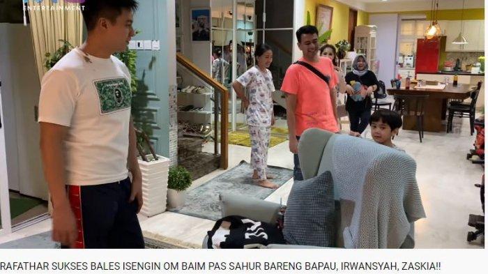 Baim Wong Kena Prank Rafathar, Paula Verhoeven hingga Nagita Slavina Ikut Bingung Keliling Rumah
