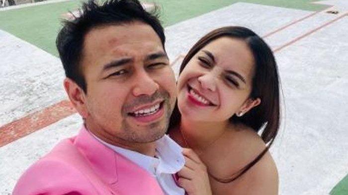 Raffi Ahmad bersama sang istri, Nagita Slavina.