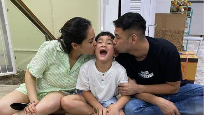 Raffi Ahmad dan Nagita Slavina rayakan ulang tahun Rafathar yang ke-6, Minggu (15/8/2021).