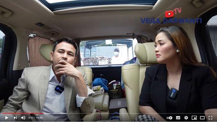 Raffi Ahmad dan Vega Darwanti membahas soal Nagita Slavina.