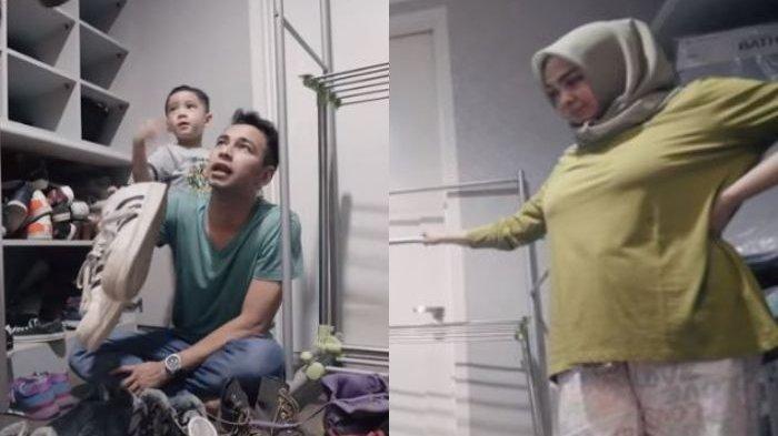 Raffi Ahmad Berani Pamer Sepatu dari Mantan di Depan Mama Rieta, Nagita Slavina Malah Sibuk Sendiri