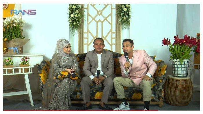 Raffi Ahmad, Sule dan Nathalie Holscher dalam kanal YouTube Rans Entertaiment, Senin (16/11/2020).