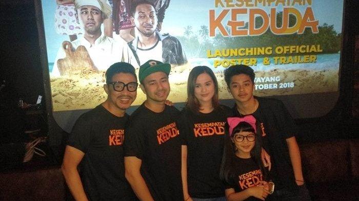 Nagita Slavina, Raffi Ahmad dan Ayu Ting Ting Disatukan di Film Kesempatan Keduda