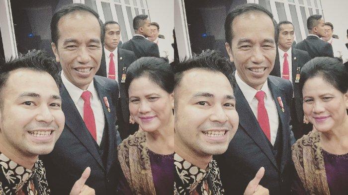 Iriana Jokowi Disebut sebagai Penggemarnya, Begini Reaksi Raffi Ahmad