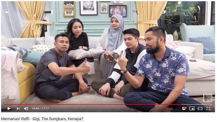 Beda Pilihan di Pilpres, Raffi Ahmad dan Teuku Wisnu Tukar Cerita soal Paslon yang Mereka Dukung