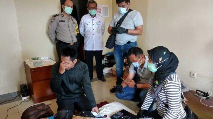Kepala Balai Pelatihan Kesehatan (Bapelkes) Batam, Kepulauan Riau (Kepri) Asep Zainal Mustofa tidak pernah menyangka kalau bawahannya, Rahmad Hidayat akan bikin heboh di instansi yang dia pimpin.(DOK DITRESKRIMUM POLDA KEPRI)