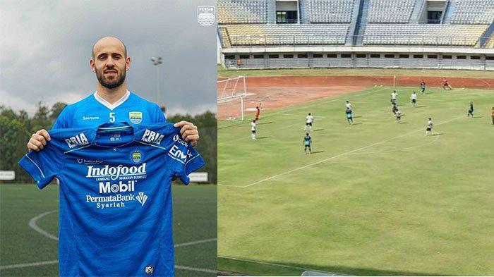 Cetak Gol Indah saat Uji Coba, Pilar Anyar Persib Bandung Mohammed Rashid Optimis di Liga 1 2021