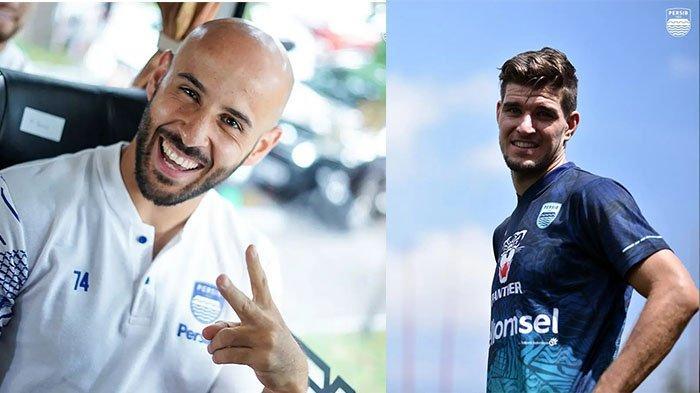 Mohammed Rashid (kiri) dan Nick Kuipers (kanan) pada postingan Instagram @persib pada 14 September 2021 dan 13 September 2021. Kondisi Rashid pulih, Nick diragukan.