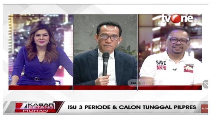 Debat dengan Qodari soal Isu Wacana Presiden 3 Periode, Refly Harun: Tolak Jokowi-Prabowo 2024