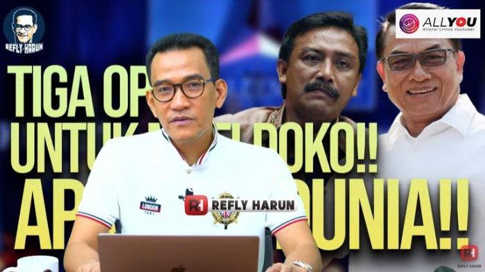 Pakar hukum tata negara Refly Harun memberi pilihan sikap Istana kepada KSP Moeldoko atas keterlibatannya dalam kisruh Partai Demokrat, Minggu (4/4/2021).