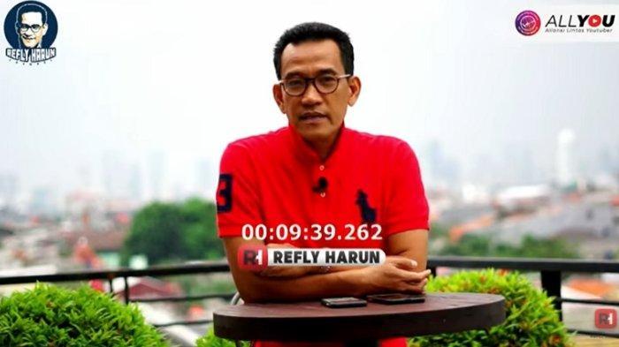 Refly Harun menanggapi isu reshuffle kedua yang sudah dirembuk Presiden Joko Widodo (Jokowi) dengan Wakil Presiden Ma'ruf Amin, Selasa (13/4/2021).