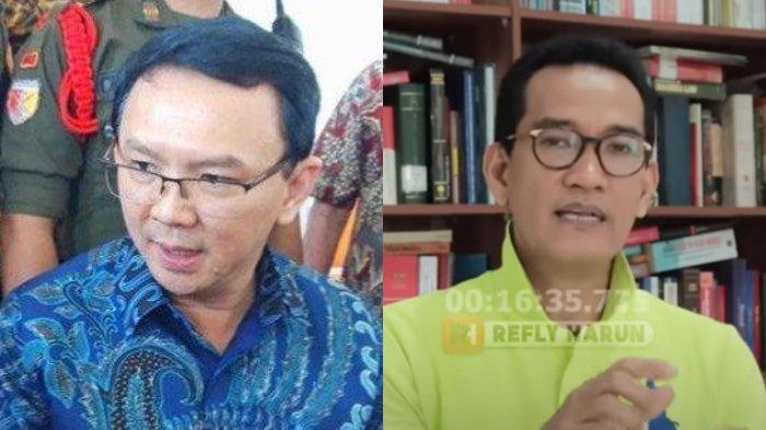 Sebut Ahok Selamanya Tak akan Bisa Jadi Menteri, Refly Harun: Terasa Tidak Adil Memang Ini