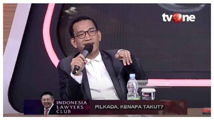 Pakar Hukum Tata Negara Refly Harun memberikan tanggapan terkait gelaran Pilkada Serentak 2020.Hal itu diungkapkan dalam acara Indonesia Lawyers Club (ILC), Selasa (22/9/2020).
