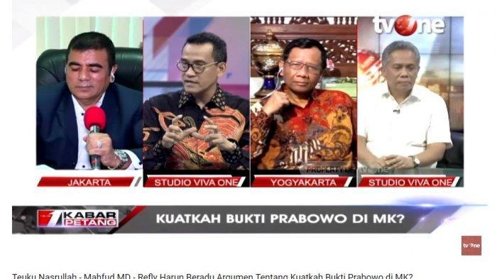 Pakar Hukum Tata Negara Refly Harun menilai pasangan calon presiden dan calon wakil presiden nomor urut 02, Prabowo Subianto-Sandiaga Uno masih memiliki harapan untuk dapat memenangkan sidang sengketa hasil Pilpres 2019 di Mahkamah Konstitusi (MK).