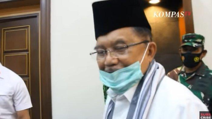 Beredar Poster Deklarasi Jusuf Kalla-AHY untuk Pilpres 2024, Lihat Respons JK Cuma Tersenyum
