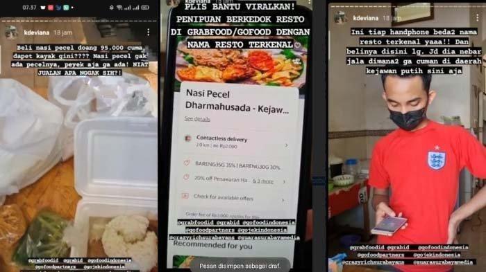 Viral Video Dugaan Penipuan Restoran Online Lewat Aplikasi, Driver: Sudah Lapor tapi Tak Ada Respons