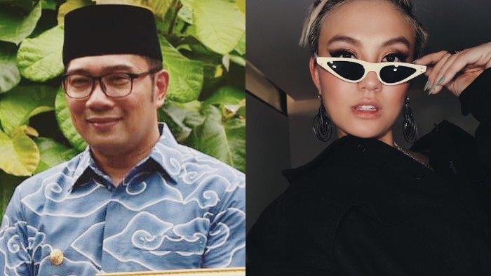 'Ditemani' Agnez Mo di Kereta, Ridwan Kamil: Semoga Bu Cinta Tidak Cemburu