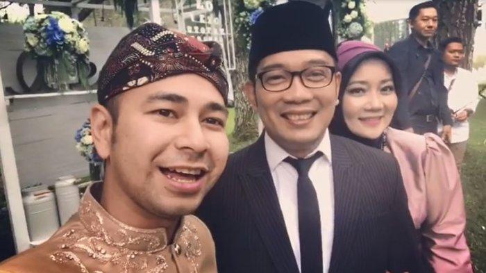 Ridwan Kamil Jadi Saksi Nikah Syahnaz Saqidah, Begini Ucapan Terima Kasih Raffi Ahmad