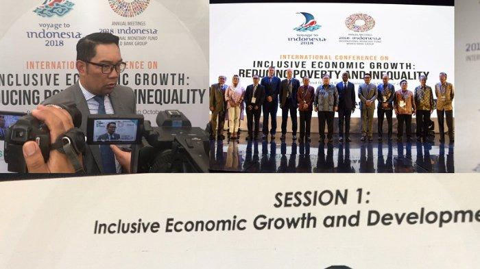 Jadi Pembicara di IMF-WB, Ridwan Kamil Paparkan Strategi untuk Pastikan Warga Miskin Jabar Sejahtera