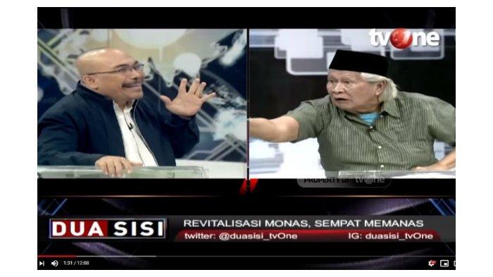 Bahas Revitalisasi Monas, Babe Ridwan sampai Teriak-teriak Debat Azas Tigor, Presenter Turun Tangan