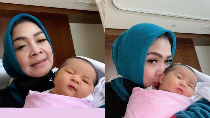 Kebahagiaan Rieta Amilia Sambut Cucu Baru, Langsung Pamer Kelucuan Anak Kedua Caca di Instagram