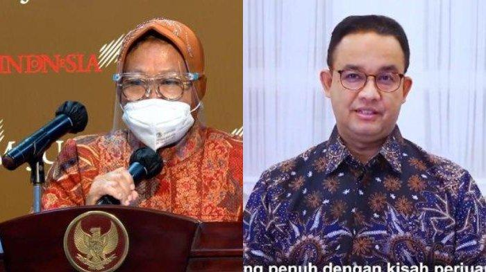 Hasil Survei Median soal Cagub DKI: Tak Ada Nama Gibran, Tri Rismaharini Pesaing Kuat Anies Baswedan