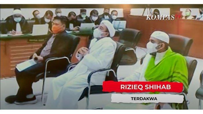 Kasus Kerumunan Megamendung, Habib Rizieq Dinyatakan Bersalah dan Divonis Denda Rp 20 Juta