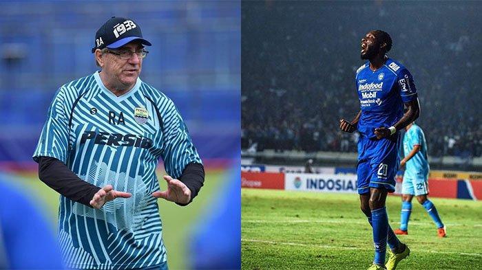 Robert Alberts Tak Jamin Geoffrey Castillion Starter Persib Bandung di Liga 1 2021