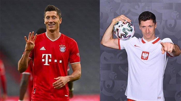 Piala Eropa 2020: Robert Lewandowski Moncer di Bayern Munchen, Mandul di Timnas Polandia