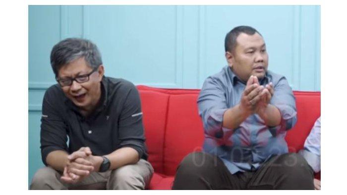 Rocky Gerung Tertawa saat Hendri Satrio Ungkap Alasan PSI Kerap Kritik Anies Baswedan, Takut Jokowi?