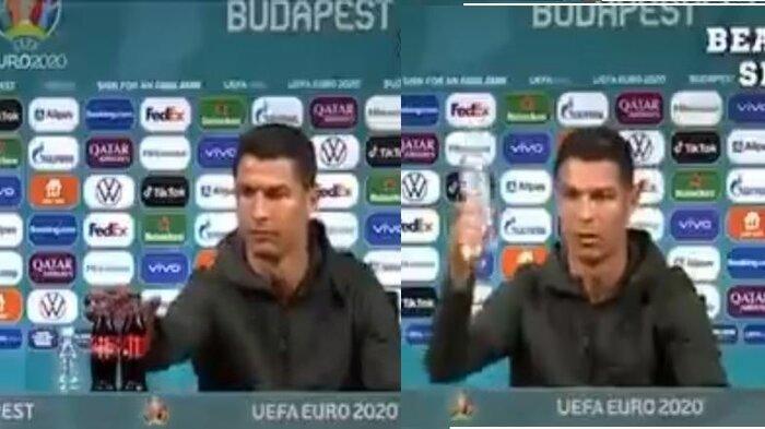 EURO 2020: Viral Ronaldo Singkirkan Botol Minuman Soda, Inilah Sisi Berbeda dengan Lionel Messi