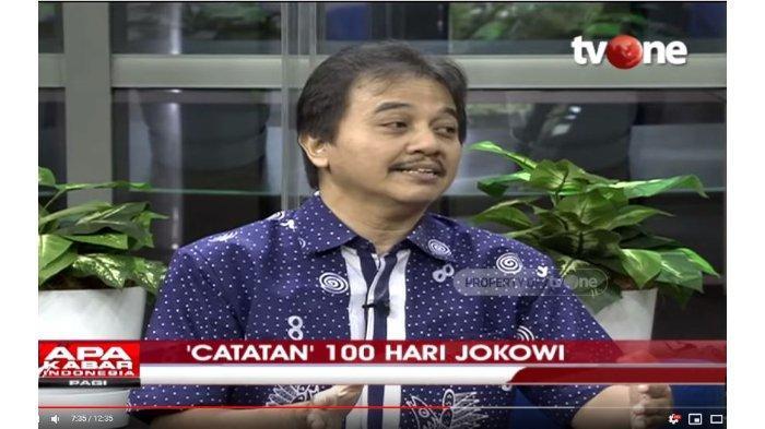 Hasil Survei Sebut Kepuasan Publik pada Era Jokowi dan SBY Hampir Sama, Roy Suryo: Ya Sudah, Selamat