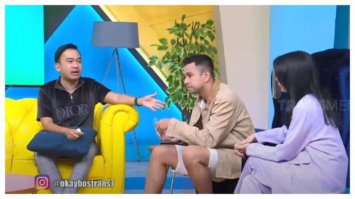 Ruben Onsu di Okay Bos bersama Raffi Ahmad, Jumat (13/11/2020). Ruben Onsu sebut ada puluhan akun pembully keluarganya yang akan dipolisikan.