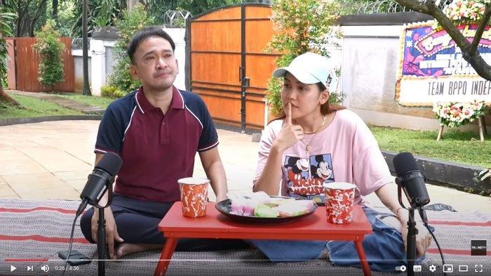 Ruben Onsu nangis karena masalah Ayu Ting Ting.