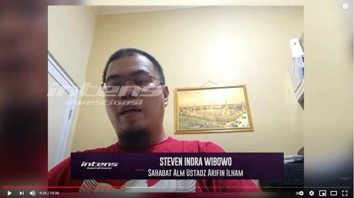 Sahabat Ustaz Arifin Ilham, Steven Indra Wibowo angkat bicara soal Alvin Faiz.