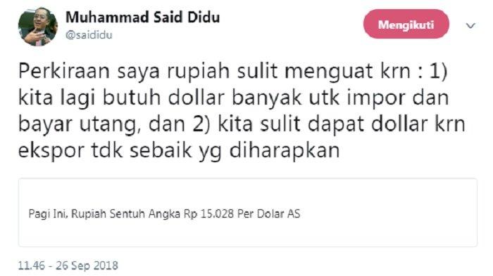 Cuitan Said Didu
